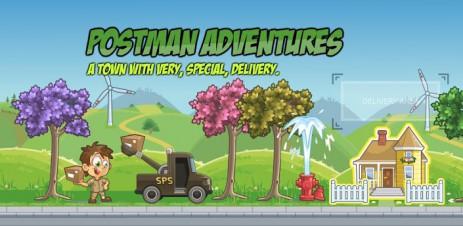 Poster Postman Adventures – приключения почтальона