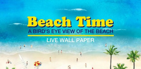 Poster Beach Time