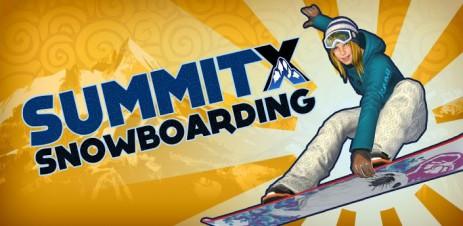"""Poster <span lang=""""ru"""">SummitX Snowboarding</span>"""