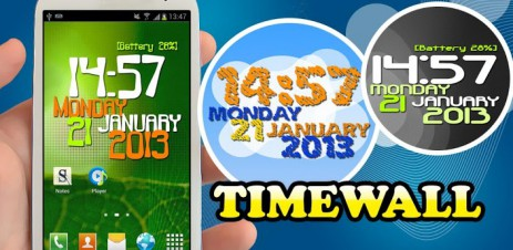 Timewall - Clock Wallpaper - thumbnail