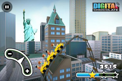 3D Rollercoaster Rush New York | Android