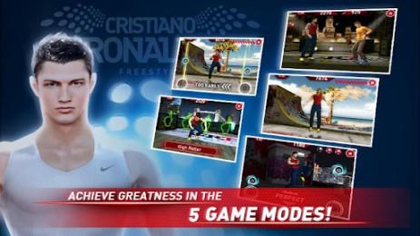 Скриншот Cristiano Ronaldo Freestyle