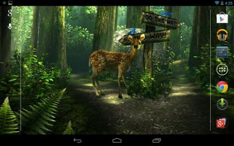 Скриншот лес