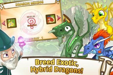 Скриншот долина драконов