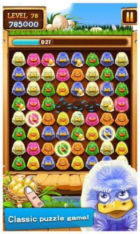 Скриншот собери шарики в ряд