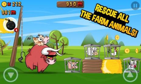 Скриншот беги корова беги