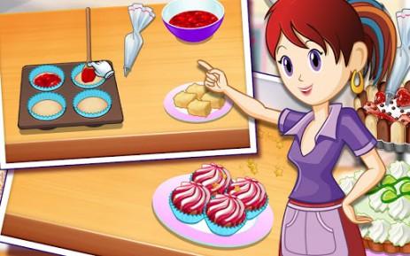 Скриншот кухня Сары