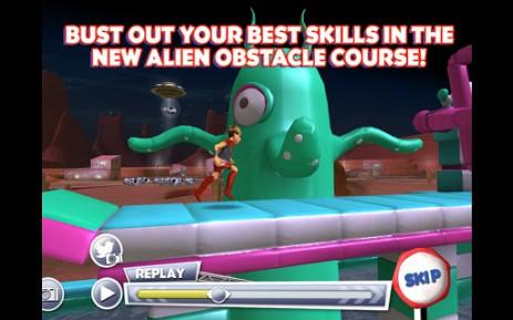 Скриншот полоса препятствий