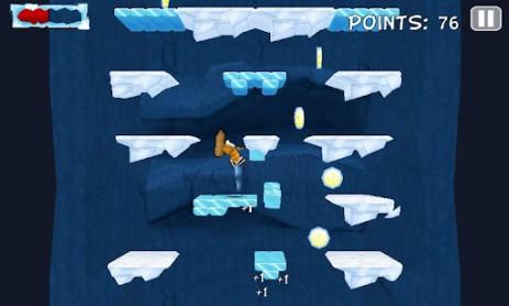 Скриншот приключения эскимоса