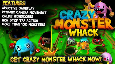Crazy Monster Whack | Android
