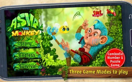 Скриншот приключения обезьяны Асва