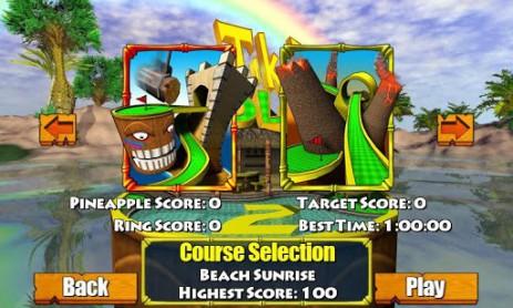 Скриншот гольф