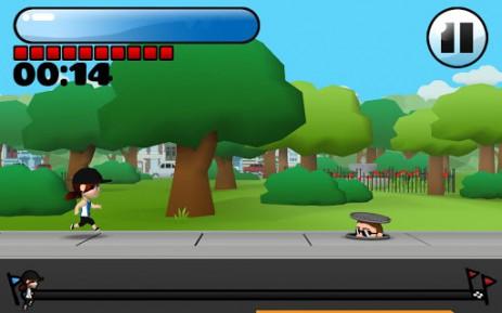 Скриншот марафон Амелии