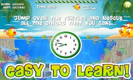 Скриншот цыпленок и черепаха