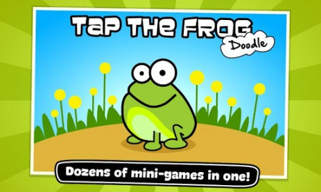 Скриншот мини-игры про лягушку