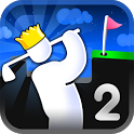 «Super Stickman Golf 2 — Супер мини гольф» на Андроид