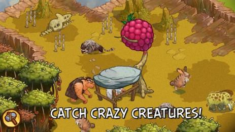 Скриншот ферма пещерный людей