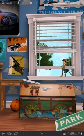 Скриншот История игрушек: живые обои