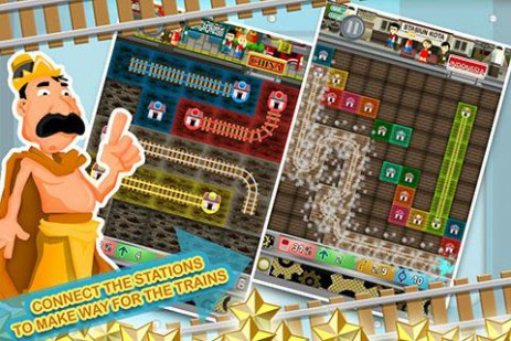 Скриншот железная дорога