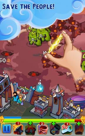 Скриншот Zeus Defense