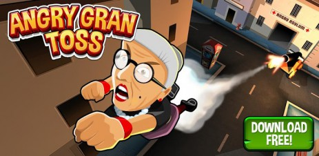Poster Angry Gran Toss