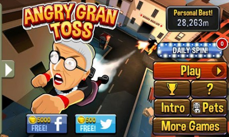 Angry Gran Toss | Android