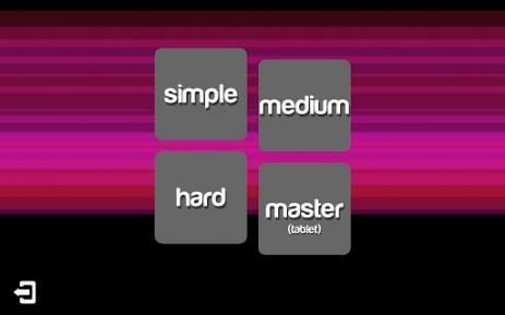 Скриншот собери цветовой ряд