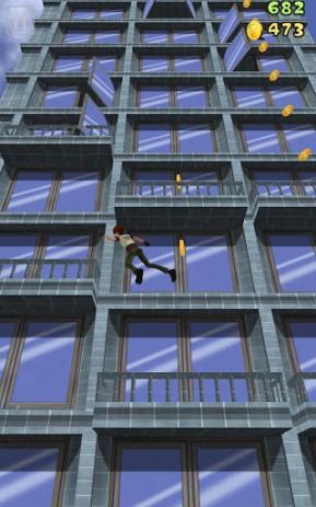 Скриншот сумасшедший альпинист