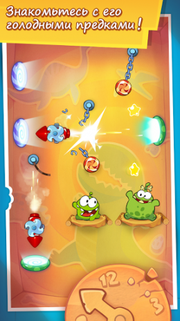 Cut the Rope: Time Travel | Android