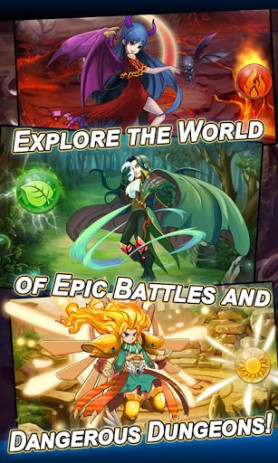 Heroes & Monsters | Android