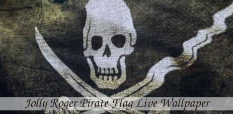 "Pirate Flag - обои ""пиратский флаг"" - thumbnail"