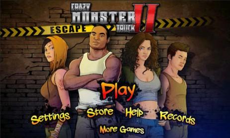Скриншот Crazy Monster Truck – Escape