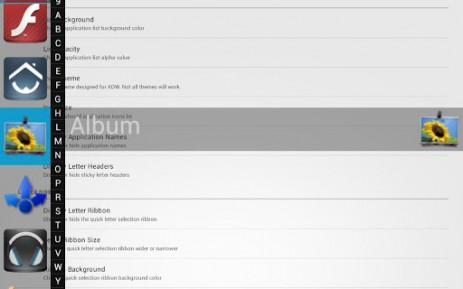 Скриншот переключение между приложениями