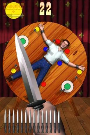 Скриншот метательный нож