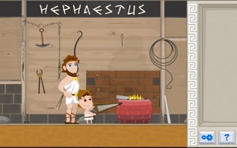 Скриншот воспитатель Богов Олимпа