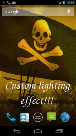 "Pirate Flag - обои ""пиратский флаг"" | Android"