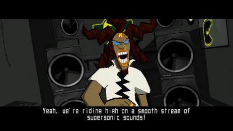 Скриншот Jet Set Radio