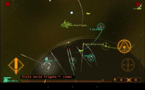 Скриншот космическая война