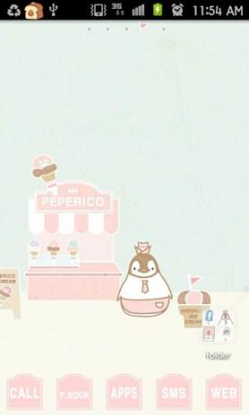 Скриншот Pepe-icecream go launcher