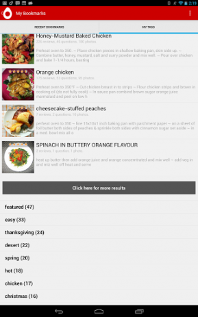 Recipe Search | Android