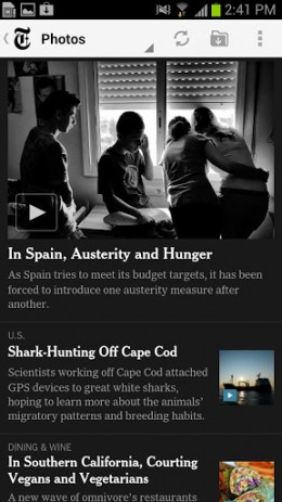 The New York Times | Android