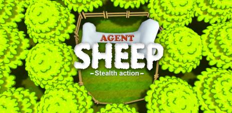Poster Agent Sheep — секретный агент-овечка