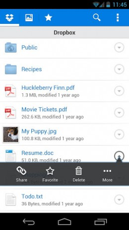 Dropbox | Android