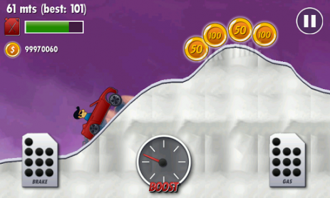 Скриншот Mountain Climb Race Racing