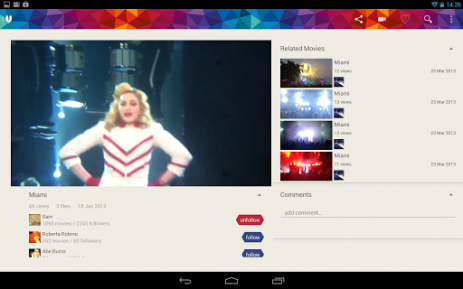 Скриншот Vyclone – Film together