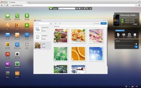 Скриншот AirDroid: удал. доступ и файлы