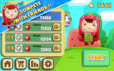 Скриншот DinoBoy Rush