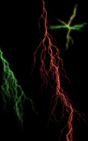 Скриншот Электрический экран