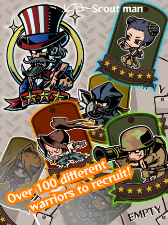 Скриншот Gotcha Warriors
