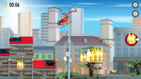 Скриншот LEGO® City Fire Hose Frenzy